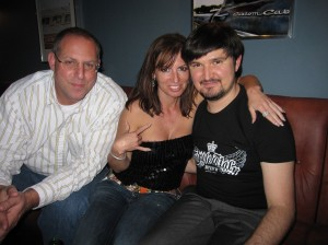 Jeff, Myself, and Ruslan owner of Coyote Ugly Moscow