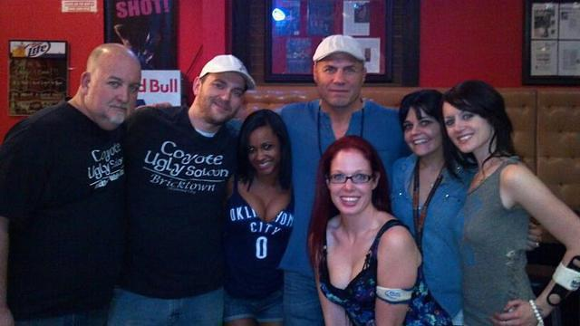 Coyote Staff and Randy Couture
