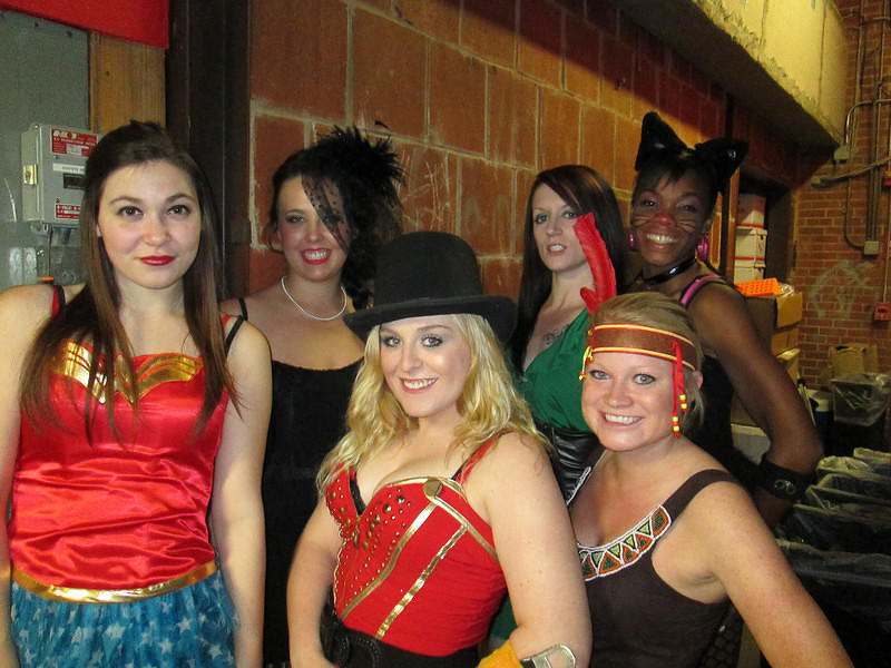 Megan, Sheila, Caitie, Lacey, Momo and Christy