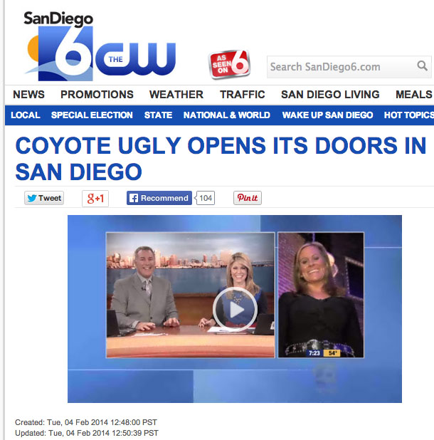 The CW - San Diego 6, February 4, 2014