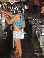 Cara as Daisy Duke