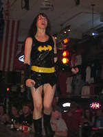 Lacey as Batgirl