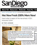San Diego Magazine, January 10, 2014