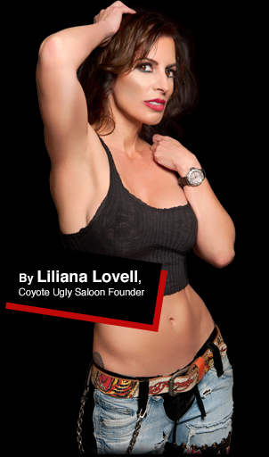 Liliana Lovell, Coyote Ugly Saloon Founder