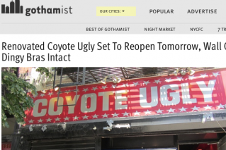 Renovated Coyote Ugly