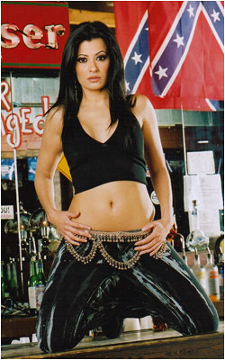 Alejandra Atlanta Coyote Ugly Saloon