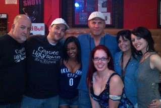 Staff and Randy Couture