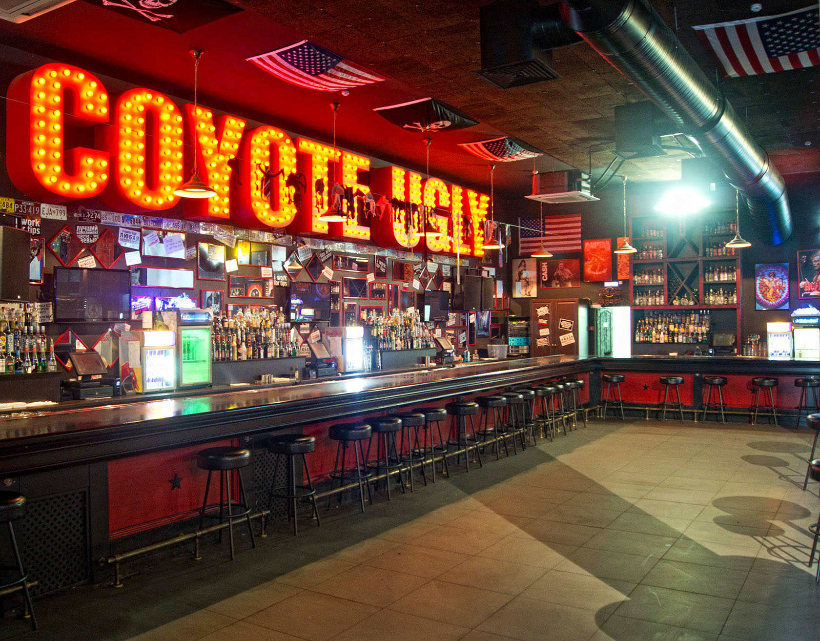 Coyote ugly saloon   the most famous bar on the planet