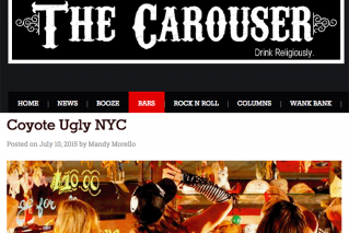 Coyote Ugly NYC Bar Review