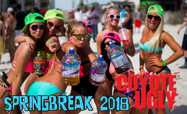 Spring Break 2018 in Tampa on February 24, 2018 - April 21, 2018