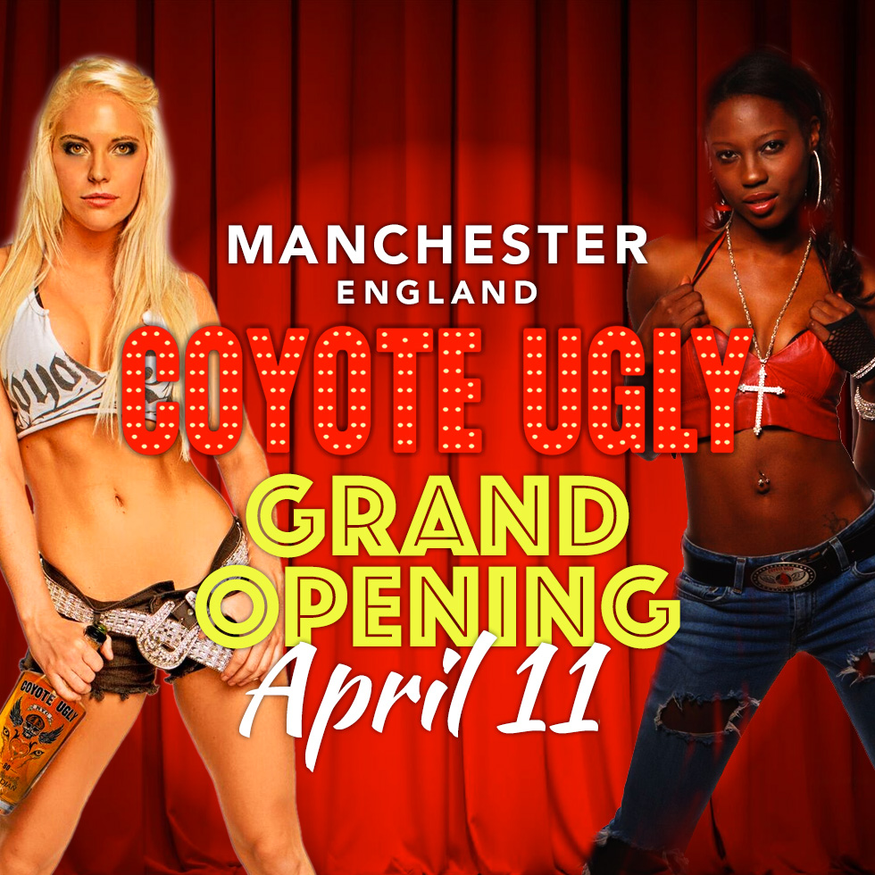 Grand Opening in Manchester on April 11, 2018