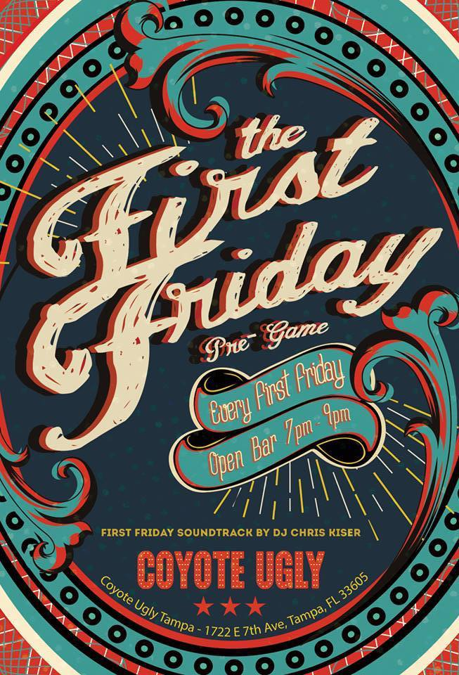 First Friday in Tampa on April 5, 2019