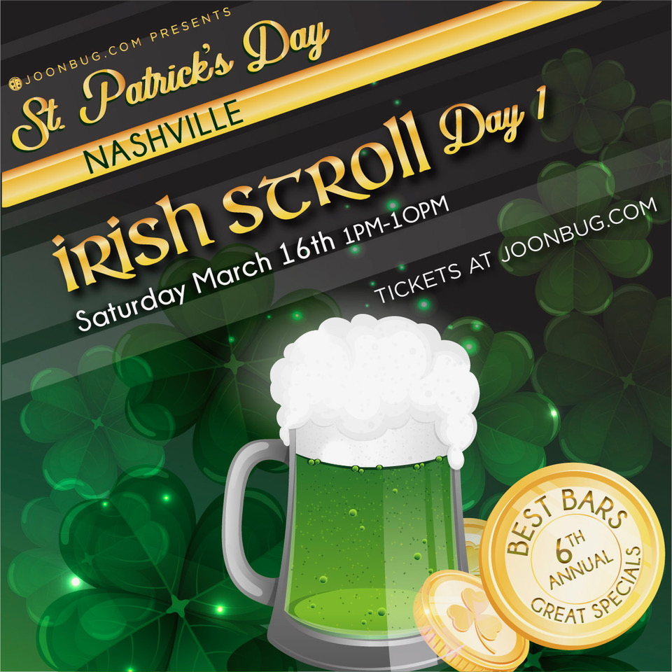 St. Patrick's Day – Irish Stroll Day 1 in Nashville on March 16, 2019