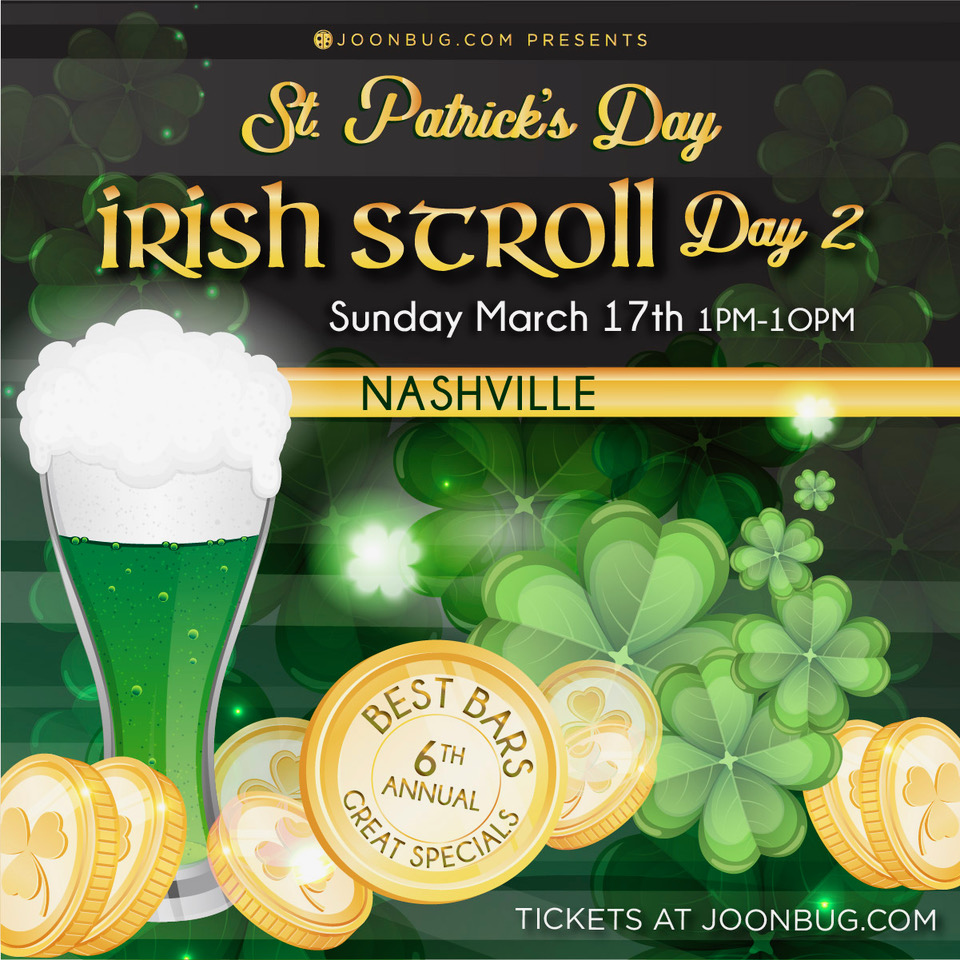St. Patrick's Day – Irish Stroll Day 2 in Nashville on March 17, 2019