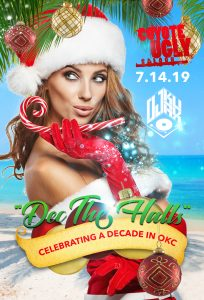 10 Year Anniversary – Dec the Halls in Oklahoma City on July 14, 2019