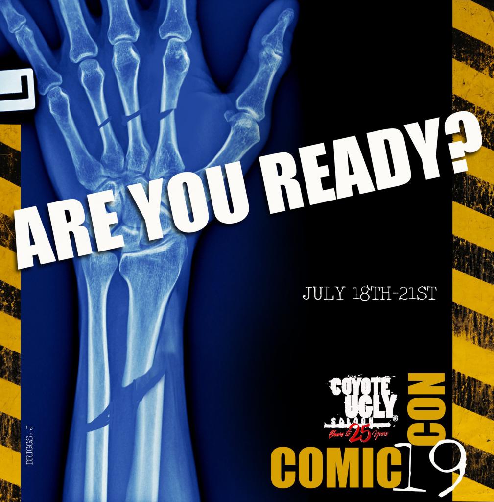 2019 Comic-Con International: San Diego in San Diego on July 18, 2019 - July 21, 2019