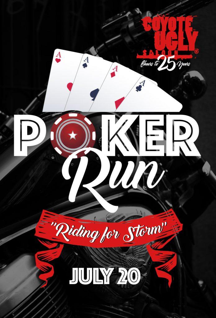 Poker Run in New Orleans on July 20, 2019