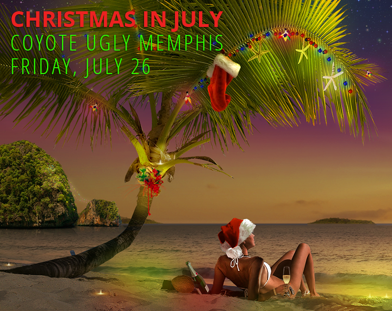 Christmas in July in Memphis on July 26, 2019