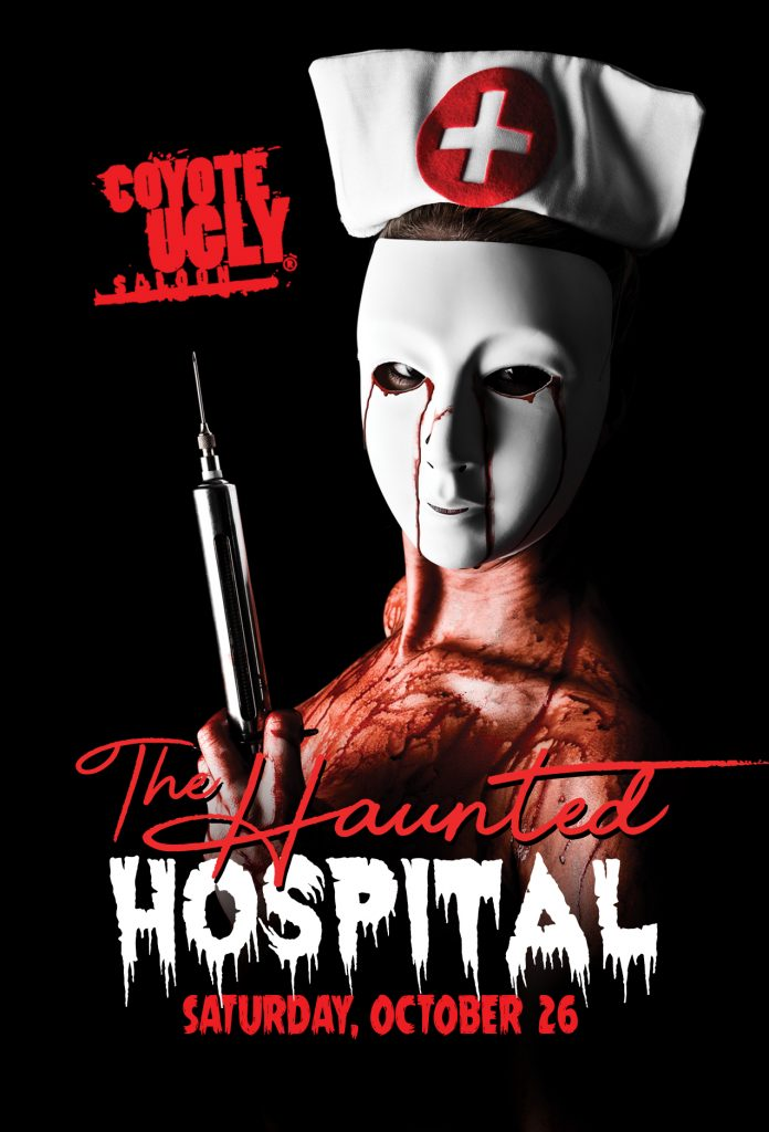 The Haunted Hospital in Memphis on October 26, 2019