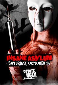 Insane Asylum in New Orleans on October 26, 2019