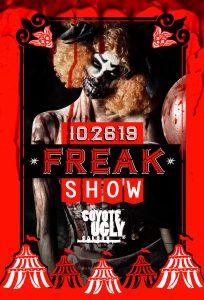Freak Show in Nashville on October 26, 2019