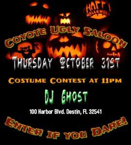 Halloween Night in Destin on October 31, 2019