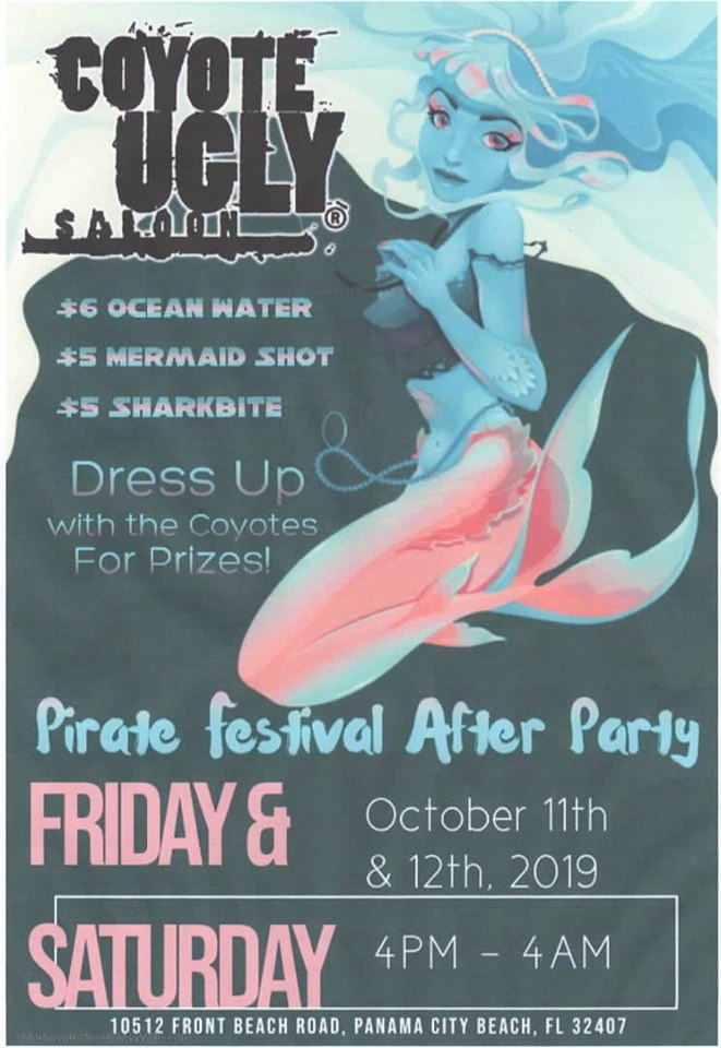 Pirate Festival After Party in Panama City Beach on October 11, 2019 - October 12, 2019