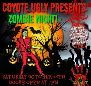 Zombie Night in Destin on October 26, 2019