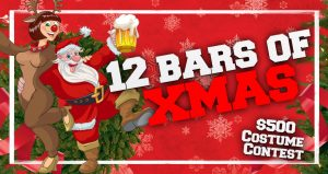 12 Bars Of Xmas in Tampa on December 14, 2019