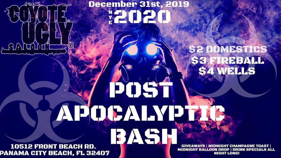 New Year's Eve – Post Apocalyptic Bash in Panama City Beach on December 31, 2019
