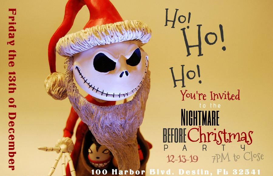Nightmare Before Christmas in Destin on December 13, 2019