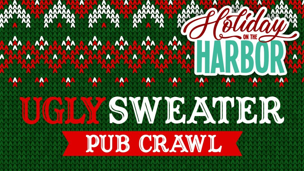 Ugly Sweater Pub Crawl in Destin on December 7, 2019