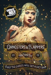 New Year's Eve – Flappers and Gangsters in New York City on December 31, 2019