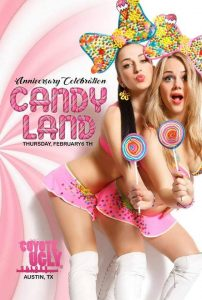 16 Year Anniversary – Candy Land in Austin on February 6, 2020