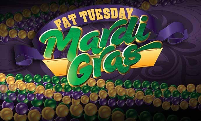 Fat Tuesday in Panama City Beach on February 25, 2020