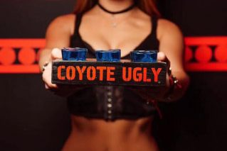 Shots at Coyote Ugly Saloon!