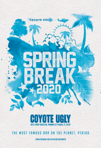 Spring Break in Panama City Beach on March 1, 2020 - March 31, 2020