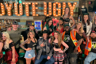 "News Article: Coyote Ugly in Colt Ford's ""Cricket On A Line"""