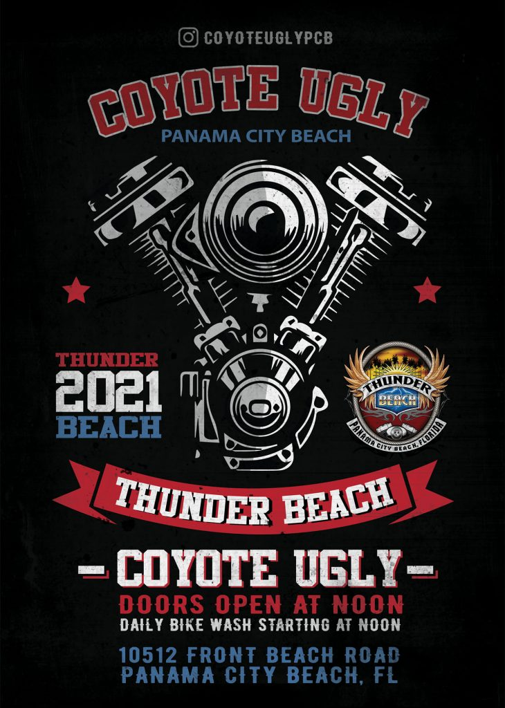 Thunder Beach Weekend in Panama City Beach on April 28, 2021 - May 2, 2021
