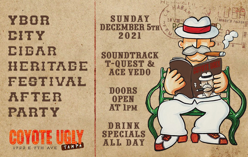 Ybor City Cigar Heritage Festival After Party in Tampa on December 5, 2021