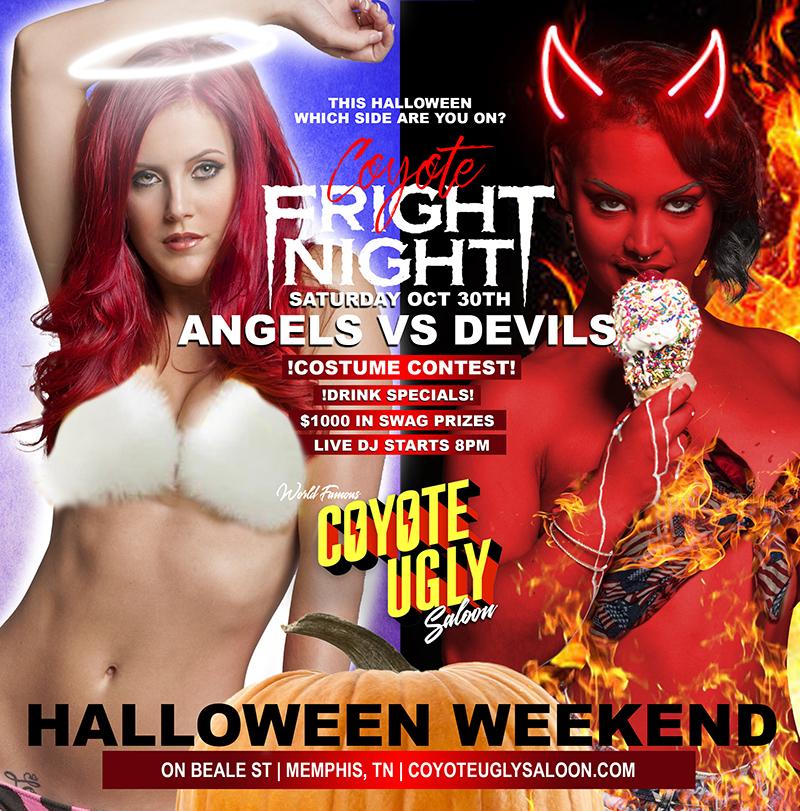Halloween Weekend: Coyote Fright Night in Memphis on October 30, 2021