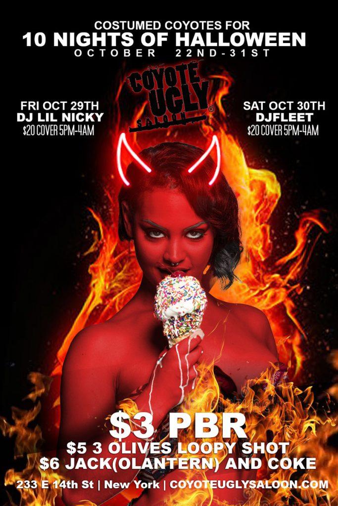 10 Nights of Halloween in New York City on October 22, 2021 - October 31, 2021