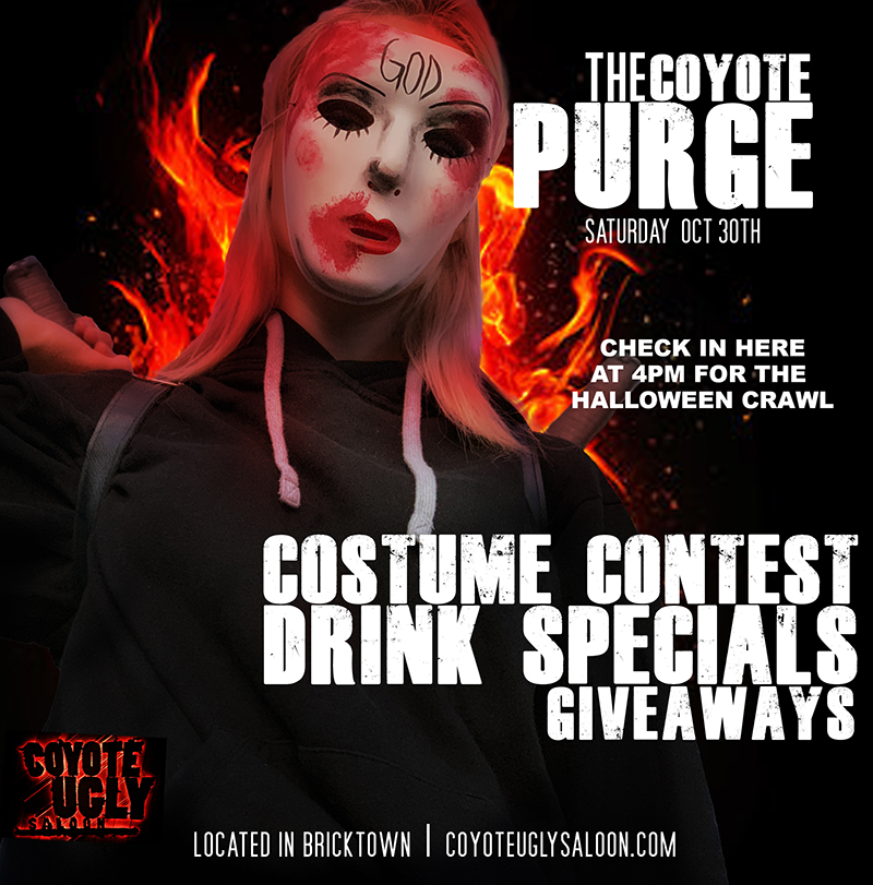 Halloween Weekend: The Coyote Purge in Oklahoma City on October 30, 2021